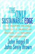 Only Sustainable Edge Why Business Strategy Depends On Productive Friction And Dynamic Speci...
