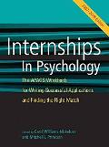 Internship in Psychology 2007-2008 The Apags Workbook for Writing Successful Applications an...