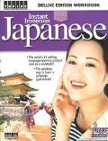 Instant Immersion Japanese Deluxe Edition Workbook