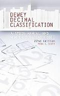Dewey Decimal Classification A Study Manual And Number Building Guide