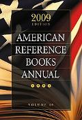 American Reference Books Annual: 2009 Edition, Volume 40