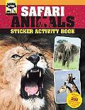 Safari Animals Sticker Activity Book (Animal Lives Sticker Activity Book)