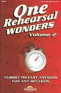 One Rehearsal Wonders, Volume 2