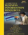 Directory of Business Information Resources 2005