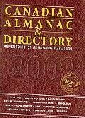 Canadian Almanac Directory, 2009