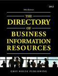 Directory of Business Information Resources 2012