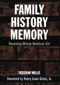 Family History Memory Recording African American Life