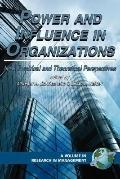 Power And Influence in Organizations New Empirical And Theoretical Perspectives