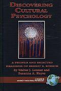 Discovering Cultural Psychology: A Profile and Selected Readings of Ernest E. Boesch