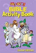ITTY-Bitty Bible Activity Easter Book 6pk