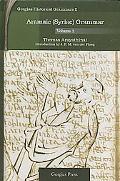 Aramaic - Syriac - Grammar, Vol. 1