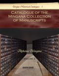 Catalogue of the Mingana Collection of Manuscripts