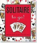 Solitaire To Go! Book And Card Deck Set