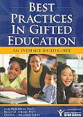 Best Practices in Gifted Education An Evidence-based Guide