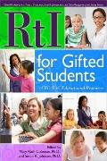 RtI for Gifted Students : A CEC-TAG Educational Resource