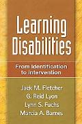 Learning Disabilities From Identification to Intervention