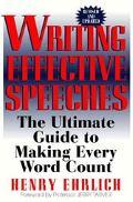Writing Effective Speeches