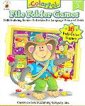 Colorful File Folder Games Grade 3 Skill-building Center Activities for Language Arts and Math