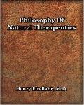 Philosophy of Natural Therapeutics 1919