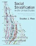 Social Stratification in the United States The American Profile Poster