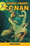 The Savage Sword of Conan Volume 7