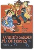 Child's Garden of Verses Shape Book