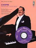 Chopin - Concerto in E Minor, OP. 11: Book/3-CD Pack