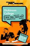 Dickinson College College Prowler Off The Record