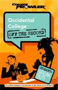 Occidental College College Prowler Off The Record