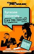 Syracuse University College Prowler Off The Record
