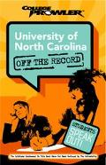 University Of North Carolina College Prowler Off The Record