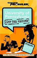 University Of Pennsylvania College Prowler Off The Record