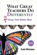 What Great Teachers Do Differently : Seventeen Things That Matter Most