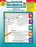 Daily Academic Vocabulary Teacher's Edition, Grade 2