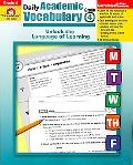Daily Academic Vocabulary Teacher's Edition, Grade 4