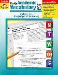 Daily Academic Vocabulary Teacher's Edition, Grade 6