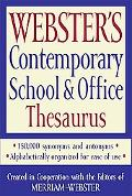 Webster's Contemporary School and Office Thesaurus