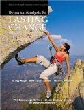Behavior Analysis for Lasting Change, Third Edition