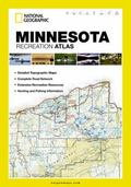 Minnesota State Recreation Atlas by National Geographic (State Rec Atlas)