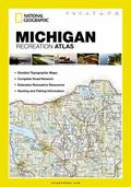 Michigan State Recreation Atlas by National Geographic (State Rec Atlas)