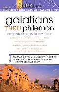 Quicknotes Commentary Vol 11: Gallations-Philemon