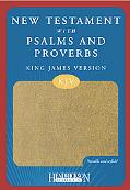 KJV New Testament with Psalms and Proverbs, Tan