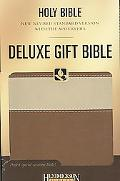 NRSV Deluxe Gift Bible with the Apocrypha, Mocha on Cocoa
