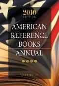 American Reference Books Annual 2010 (ARBA and Index)