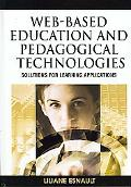 Web-Based Education and Pedagogical Technologies