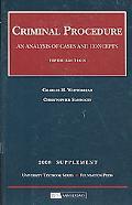 Criminal Procedure, 5th, 2008 Supplement