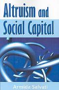Altruism and Social Capital