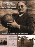 Heritage Sports Collectibles Dallas Auction #706 The Dr. James Naismith Collection