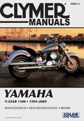 Clymer Yamaha V-Star 1100 1999-2009 (Clymer Motorcycle Repair)