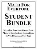Math For Everyone Student Bundle: Math For Everyone Combo Book, Math Is Easy So Easy Combo B...